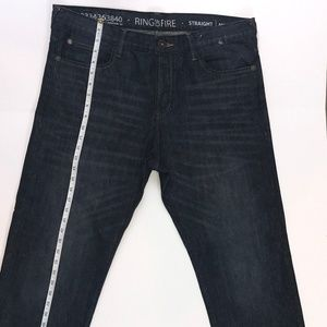 Ring of Fire Jeans Men's Straight Leg MIRACOST ST